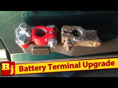 How to Replace Battery Terminals