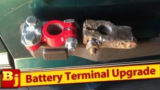 Video How to Replace Battery Terminals download MP3, 3GP, MP4, WEBM, AVI, FLV Juli 2018