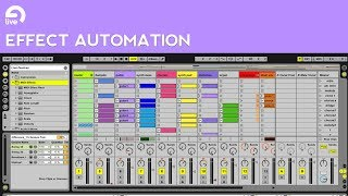 Ableton Live Tutorial: How to Automate Effects