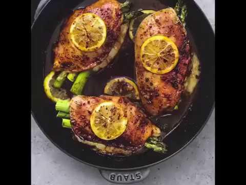 Asparagus Stuffed Chicken | Food World