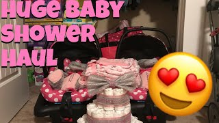 Baby Shower Haul | Twin Edition + NAME REVEAL 💗