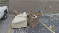 Moving Company Caught Dumping Furniture In Fulton Market