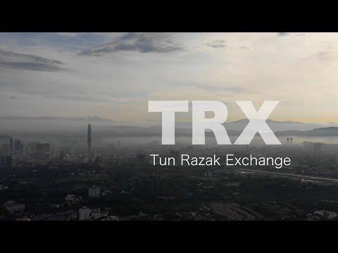 TRX Tun Razak Exchange Kuala Lumpur - Progress as 20 Oct 2018