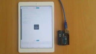 ArduinoCode - Arduino IDE on iOS. Compile & upload Blink sketch to Arduino Uno over USB
