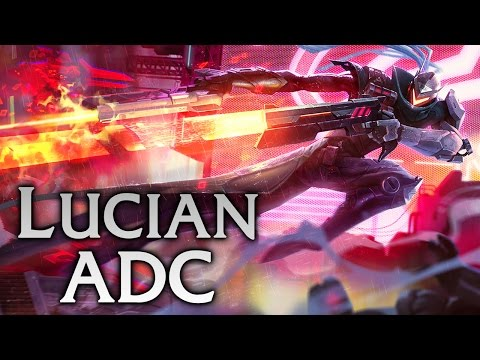Project: Lucian ADC - Full Game Commentary