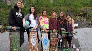 Longboard girls in Norway - TV 2 Sporten