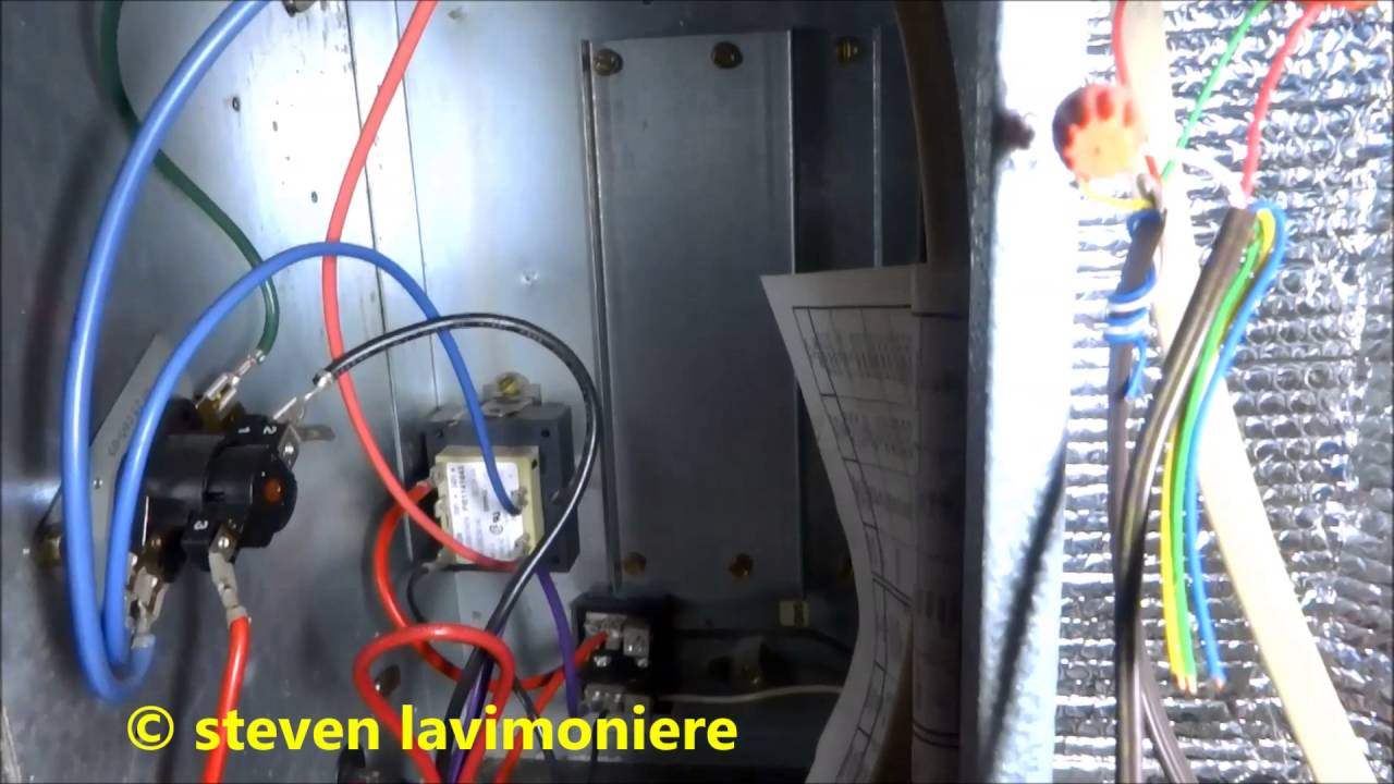air conditioning system giving off burnt smell in house - youtube