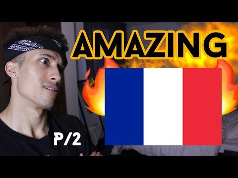 AMERICAN REACTING TO FRENCH HIP HOP / RAP (Part 2)