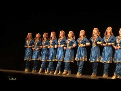Ансамбль Зия «Кавказский танец» 2018 год