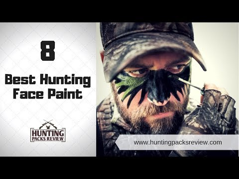 8 Best Hunting Face Paint - HUnting Packs Review 2019