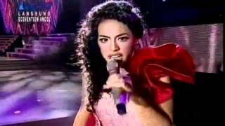 Lady Gaga -  Bad Romance.- Sean Cover Live @ Indonesian Idol 2012, Top 2 [HQ]
