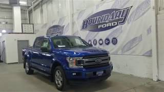 2018 Ford F-150 SuperCrew XLT Sport 302A W/ 3.5L EcoBoost, Moon Roof Overview | Boundary Ford