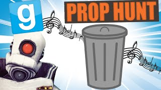 PROP HUNT (90) | MUSICAL TRASH CANS! | (Garry