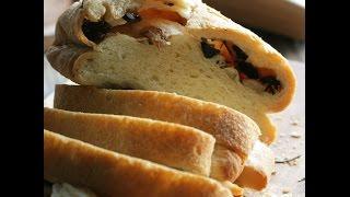 Юлия Высоцкая — Хлеб с оливками и чесноком
