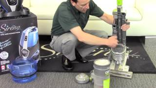 Vacuum Cleaner Reviews - Sirena Bagless Water Filtration Canister Vacuum Cleaner