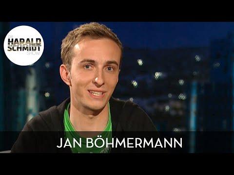 Der junge Jan Böhmermann über seinen Streit mit Lukas Podolski | Die Harald Schmidt Show (ARD)