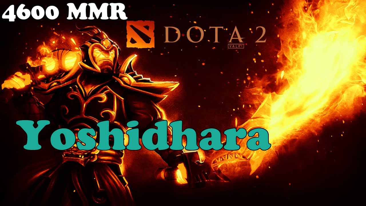 Dota 2 Yoshidhara 4600 Mmr Subscriber Plays Ember Spirit Ranked