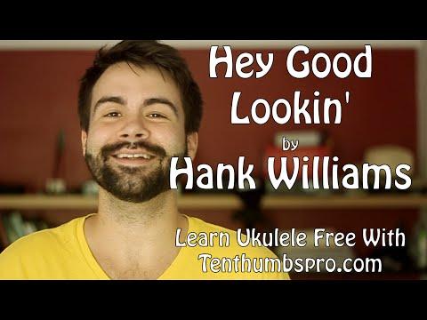 Hey Good Lookin' - Easy Beginner Song Ukulele Tutorial w/Play-a-long