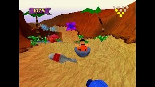 The Flintstones: Bedrock Bowling ... (PS1) 60fps