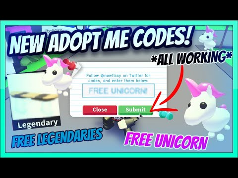 roblox adopt me codes december 2019
