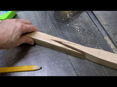 Splicing wood end to end to make a long curtain rod