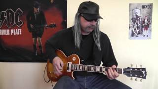 airbourne   blonde bad and beautiful cover by rhythmguitarx
