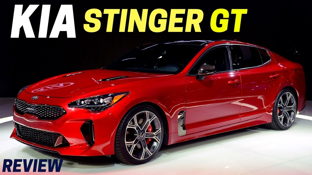 New 2018 Kia Stinger Gt Specs First Look 255 Horse 2017 Naias