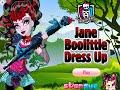 Monster High Games- Jane Boolittle Dress Up- Fun Online Fashion Dress Up Games for Girls Kids