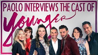 'YOUNGER' cast gives me the scoop on season 4!