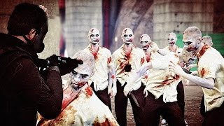 GTA 5 ZOMBIE APOCALYPSE - THERE IS TOO MANY ZOMBIES! (GTA 5 Zombies Gameplay)