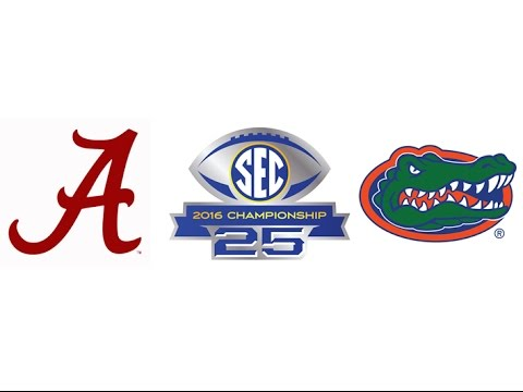 2016 SEC Championship, #1 Alabama vs #15 Florida (Highlights)