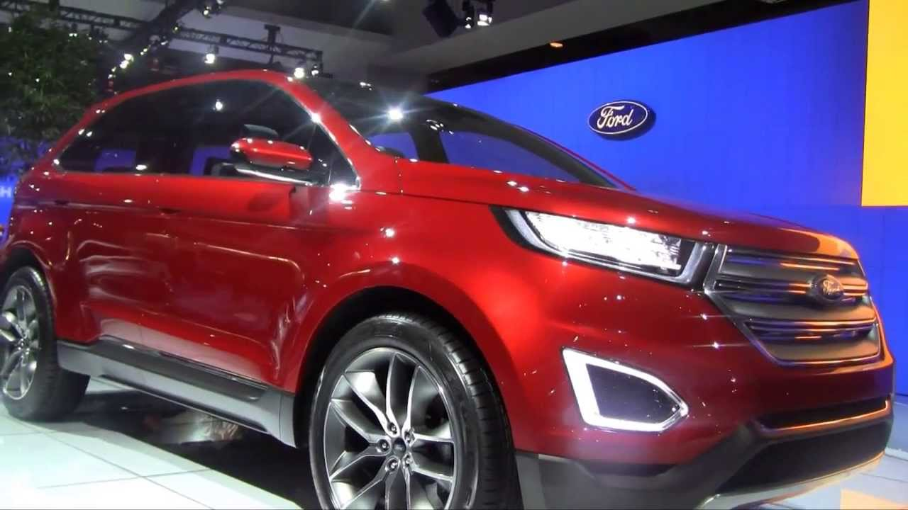 Ford Edge Hybrid In  Washington Dc Auto Show  Hd