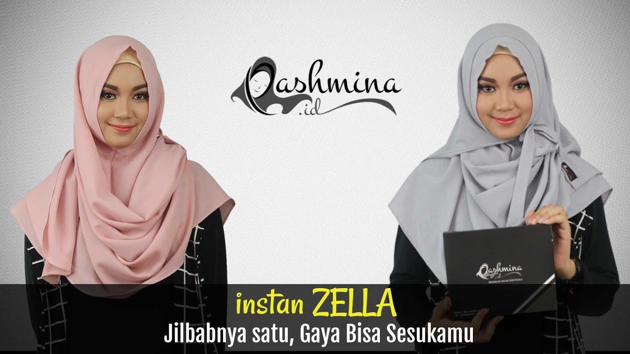 Tutorial Hijab Pashmina Simple Untuk Sehari Hari By PashminaID