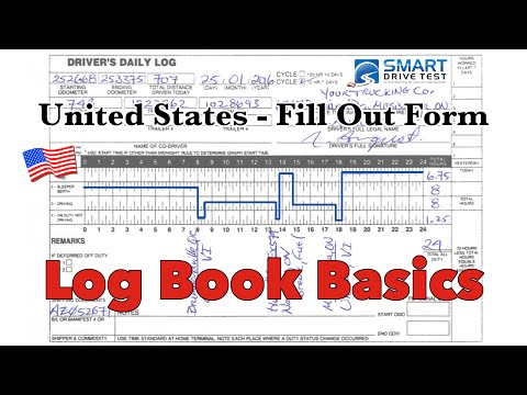 How To Fill Out The Form Correctly | United States Log Books