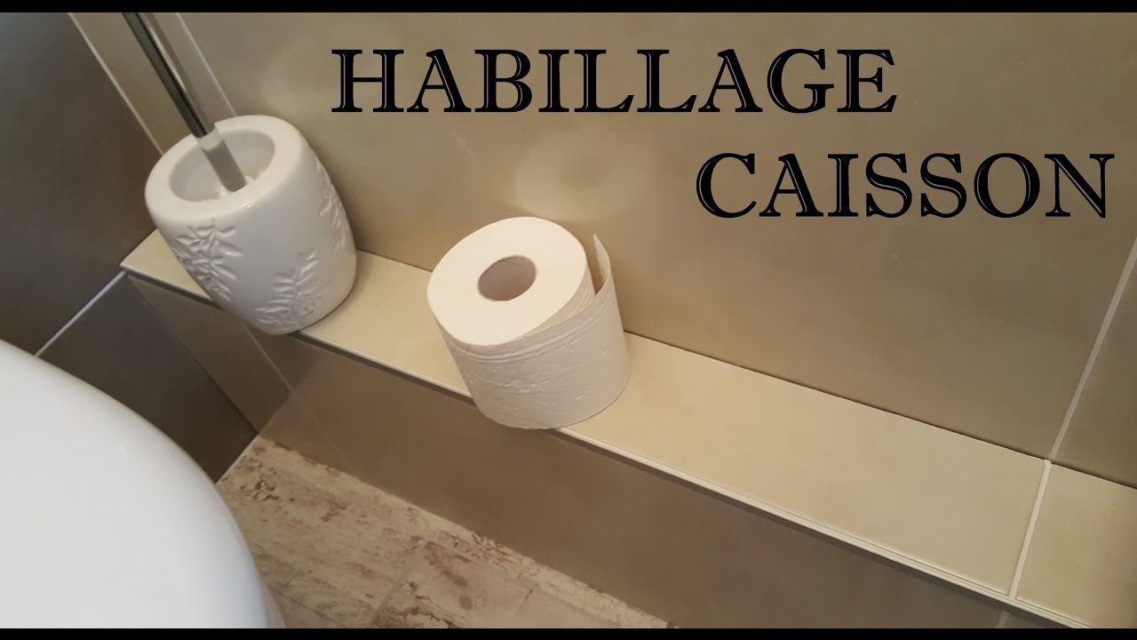 Eric le carreleur habillage caisson wc en fa ence ou for Carrelage mural wc