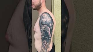 Star Wars tattoo by Rick Barnett