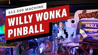 This Limited Edition Willy Wonka Pinball Machine May Be Most Expensive Ever, Here's Why