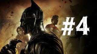 Injustice Gods Among Us Gameplay Walkthrough Part 4 - Nightwing - Chapter 4