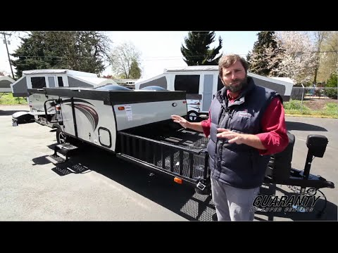 2016 Forest River Rockwood A122TH Folding Camper • Guaranty.com