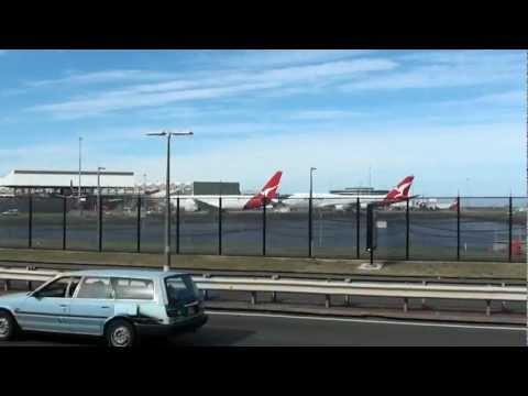 Qantas Drive at Sydney Airport HD