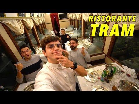 Cena di LUSSO a Milano nel TRAM RISTORANTE 🚋