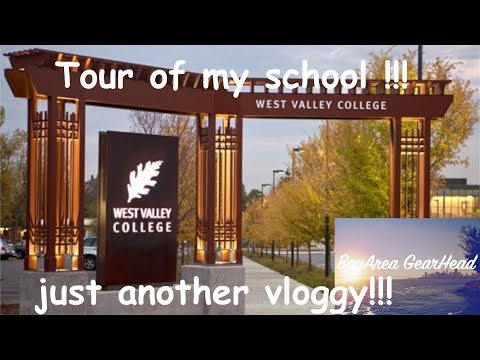 west valley college campus tour|| my school!!! || BayArea GearHead