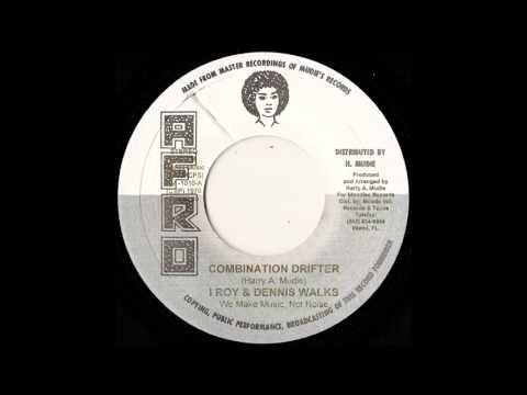 """7"""" I Roy/Dennis Walks/Mudies All Stars - Combination Drifter/D.J.Drifter"""