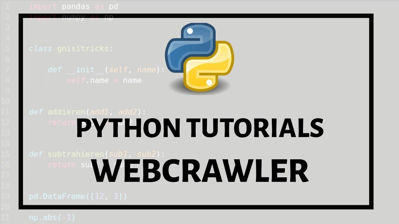 Einführung in einen Webcrawler mit Chrome, Python und Selenium