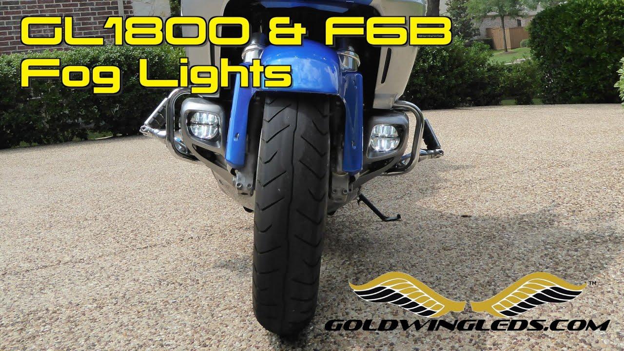 install goldwingleds com driving fog lights for honda goldwing and f6b [ 1280 x 720 Pixel ]