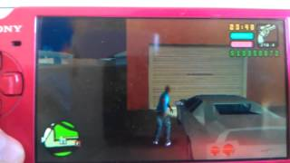 TUTO vice city stories psp plusieur vehicules dans le garage