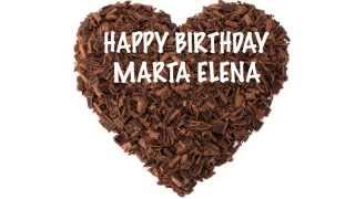 MartaElena   Chocolate - Happy Birthday