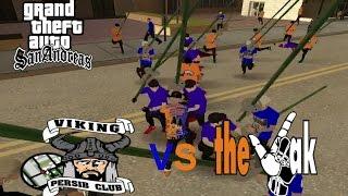 GTA SA - Viking VS The Jak Mania