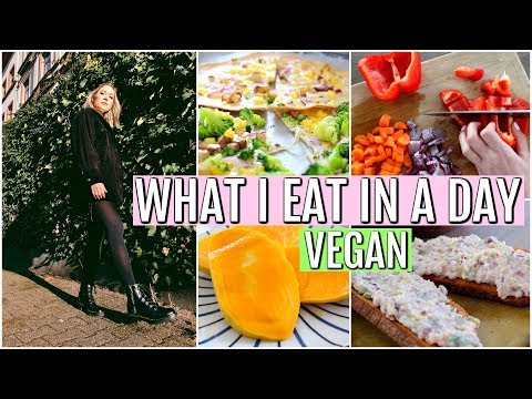 WHAT I EAT IN  A DAY - 2 Tage!! Vegan Mit Rezepten | funnypilgrim
