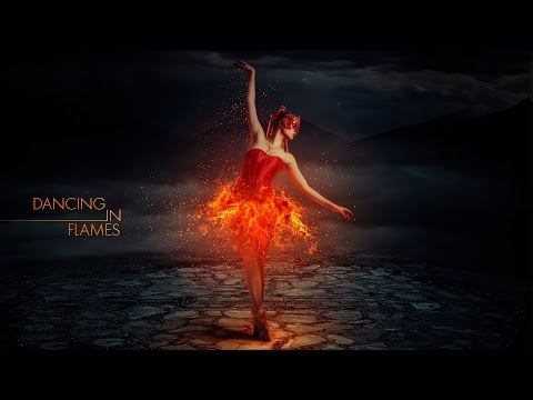 Photoshop Manipulation Tutorial - Dancing in Flames